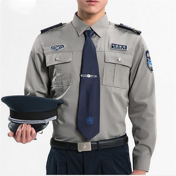 Wholesale Custom All Seasons Long Sleeve Security Guard Uniforms