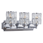 Wall Bedroom Hot Selling New Design 3 Lights Metal Crystal Wall Sconce Bedroom Decor Wall Lamps