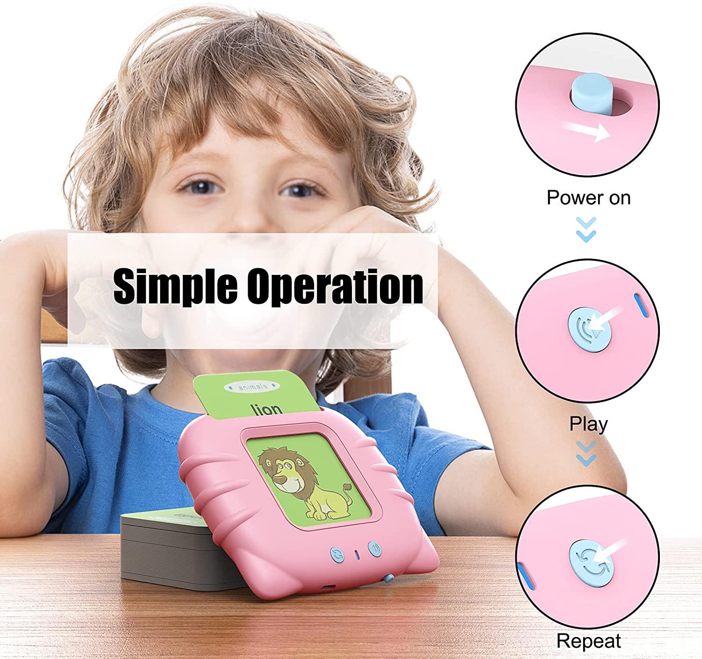 Детская развивающая игрушка для раннего развития, набор для печати флэш-карт, обучающие игрушки для изучения и заклинания