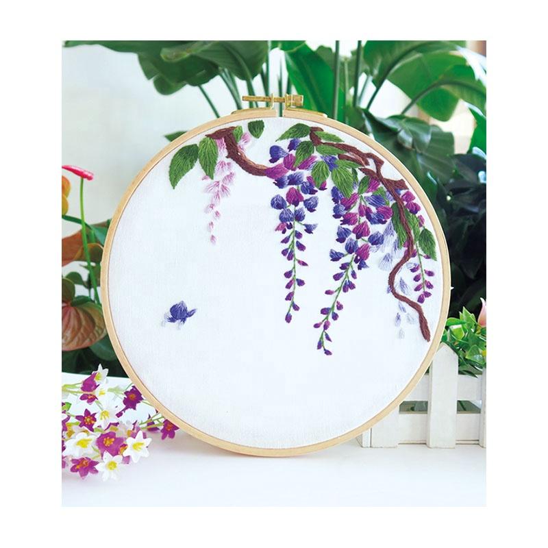 Набор для вышивания Xiurun 2021, лидер продаж, Набор для вышивки «сделай сам», игла для перфорации, сшивки крестом, Набор для вышивки для начинающих