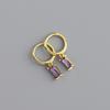 Purple cz-gold