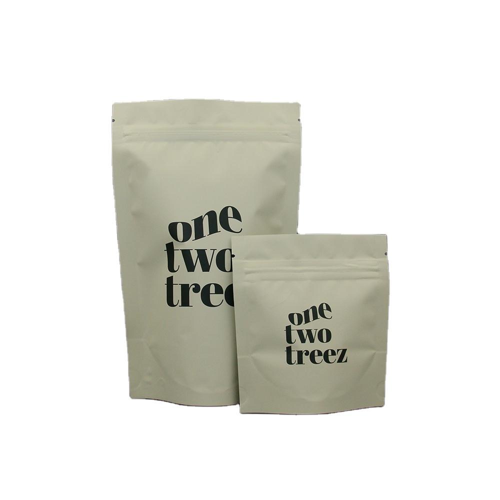 Custom druck matte stehen up getrocknete lebensmittel verpackung kunststoff zip-lock beutel runde fenster schwarz mylar taschen
