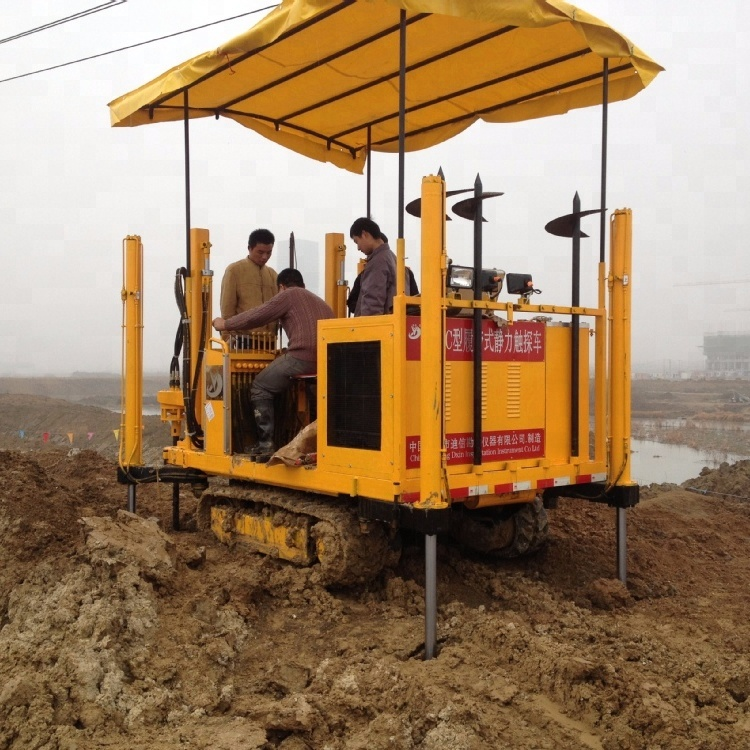 High Quality Low Price CPT Drill Rig Machine