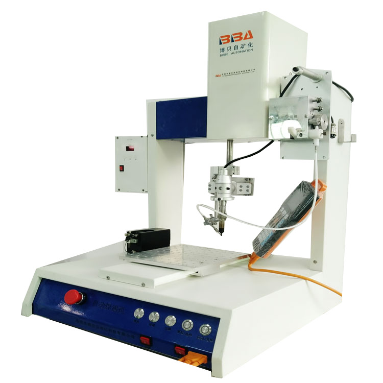 Automatic four-spindles rotating robotic soldering machine automatic solder machine factory machinery