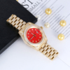 Gold & Red Dial