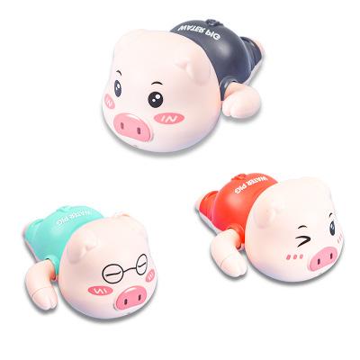 Детские игрушки для ванной, детские игрушки для бассейна, плавательная свинья, игрушка для ванны