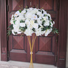 60cm white and greenery