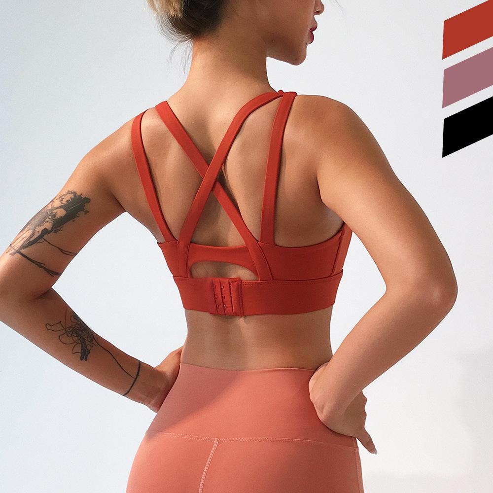 Treino new um ombro esportes conjuntos de sutiã top colheita sutiã dos esportes das mulheres de fitness esportes ginásio ginásio de fitness yoga Execução Sutiã