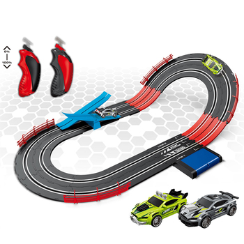 1/43 track toy RC Slot racing car Slot car Train tracks toys Electric toy