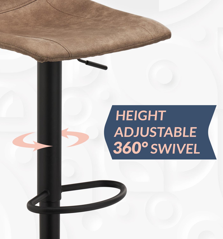 Регулируемая Скандинавская мебельная стойка, современные высокие стулья для кухни, барного стола, ресторана