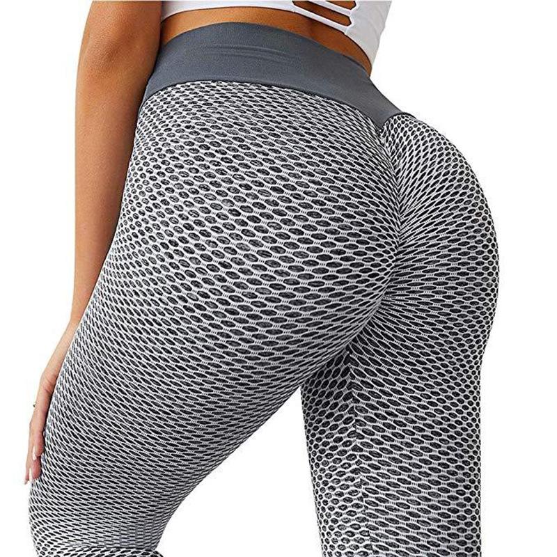 Женские штаны для фитнеса с высокой талией, бесшовные Леггинсы для йоги