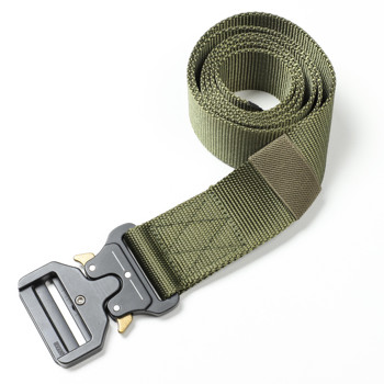 Custom Men Nylon Tactical Belt Military Army Fans Nylon Webbing Multi functional Tactical Nylon Duty Belt
