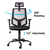 Dropshipping Mesh Fabric Staff Conference Chair USA stock 360 degree rotating comfortable  mesh office chairs