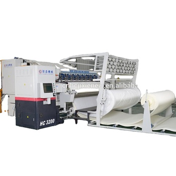Hengchang produces super high speed computer quilting machine, quilting needle fabric, multi-needle shuttle-free equipment