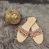 Gold-DB1004-slipper ensemble