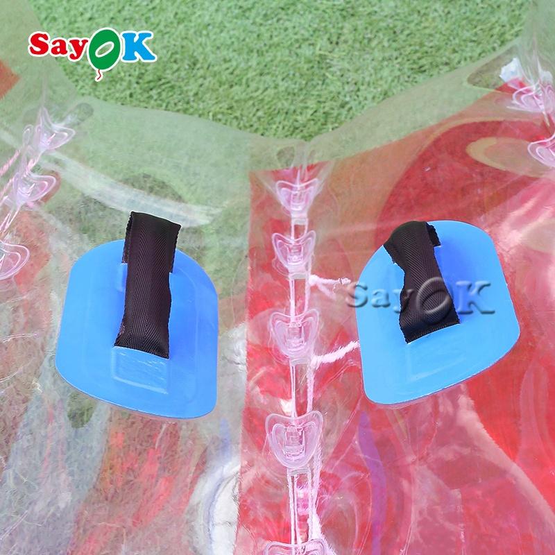 Открытый надувной футбольный мяч, надувной бампер для взрослых