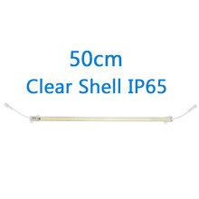 Светодиодная лампа для кухонного шкафа, водонепроницаемая светодиодная трубка 30 см 50 см, холодный белый теплый белый 220 В, SMD2385, 72 светодиода,...(Китай)