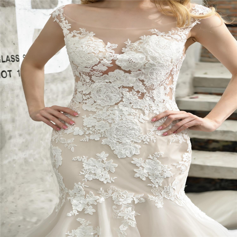 Оптовая продажа, недорогое свадебное дизайнерское платье, кружевное свадебное платье с открытой спиной для женщин, сексуальное свадебное платье для невесты