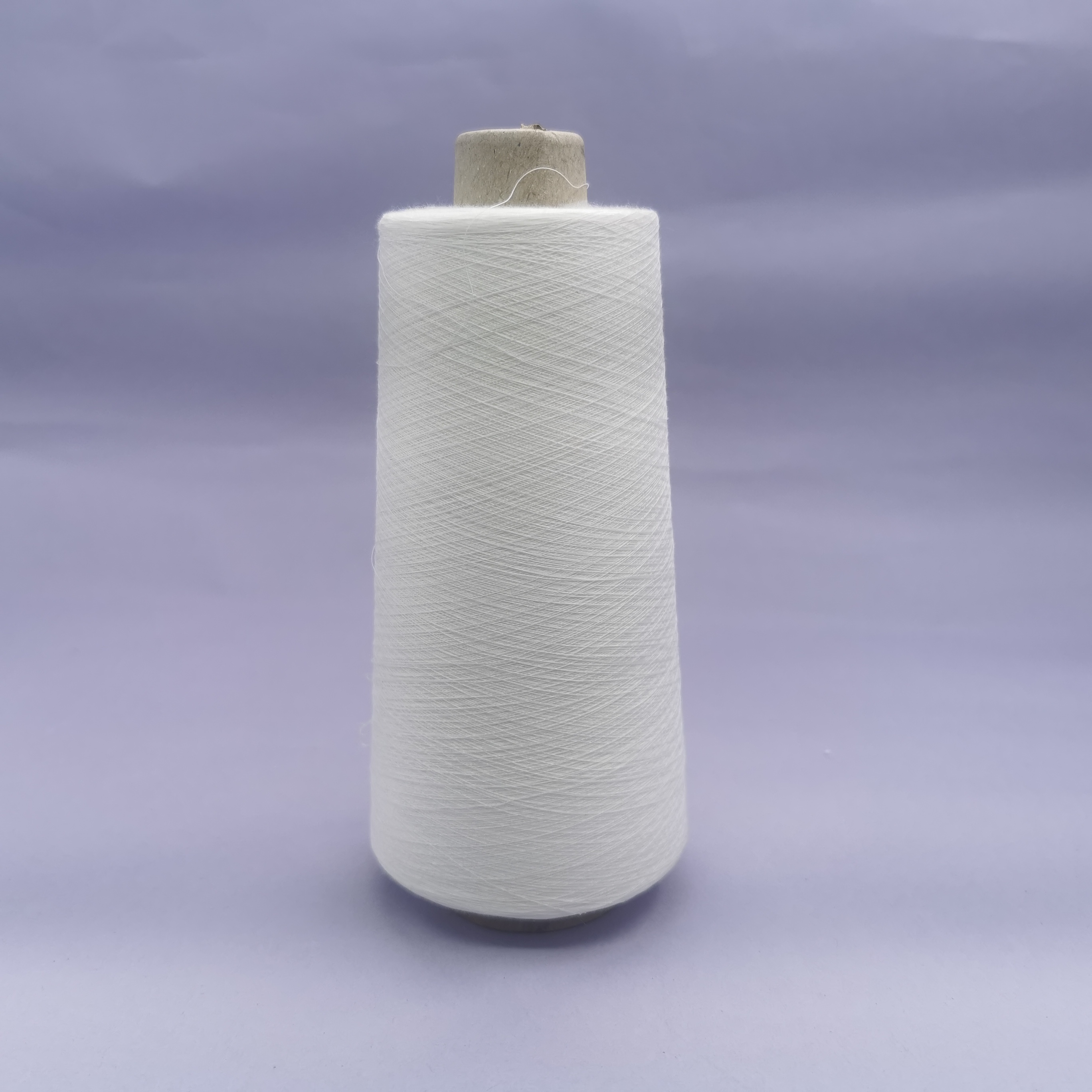 high count ne50s white virgin polyester blend bamboo yarn for for weaving and knitting