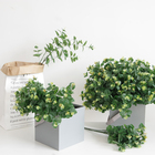 Leaves FF-002-2 Hot Sale Simulation Artificial Money Leaves Plant Eucalyptus Leaves For Decor
