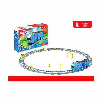 Manufacturer Best sale happy plastic cartoon g scale train track toys