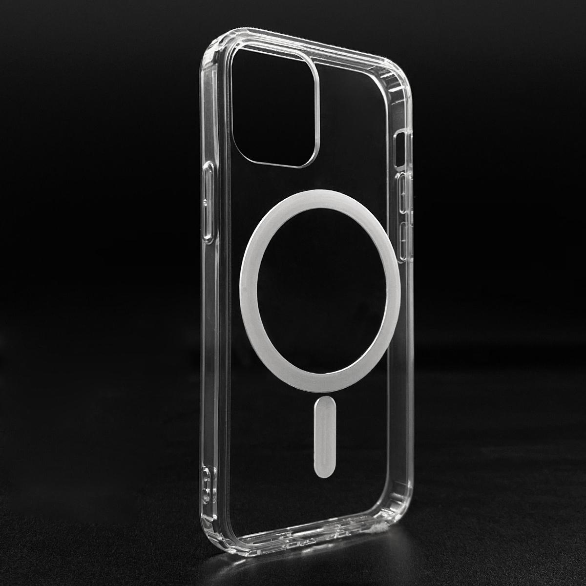 Горячая Распродажа прозрачный ТПУ ПК прозрачный магнитный беспроводной зарядный чехол для телефона для iPhone 12 Pro Max