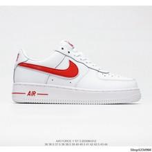 Оригинальные кроссовки Nike Air Force 1; Низкие парусиновые универсальные повседневные спортивные туфли; Женская обувь; Размеры 36-39()