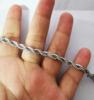 Gümüş kolye 45CM