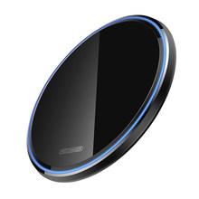 KUULAA 10 W Qi Беспроводное зарядное устройство для iPhone X/XS Max XR 8 зеркальное Беспроводное зарядное устройство для samsung S9 S10 + Note 9 8(Китай)