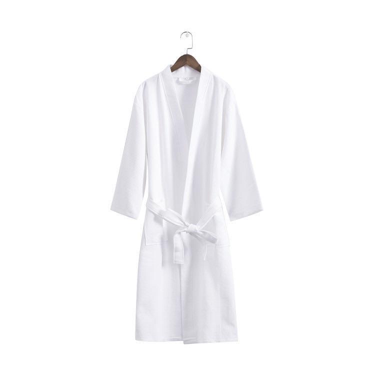 Wholesale cotton velour bathrobe custom velvet 5 star hotel 100% cotton bathrobe