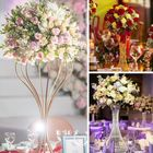 Table Wedding Table Decoration Flower Ball Stand Trumpet Vase Table Centerpieces For Wedding Decoration Centerpiece