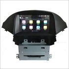 Capacitive HD touch screen car stereo 8 cores head unit android car dvd player for Chevrolet Orlando