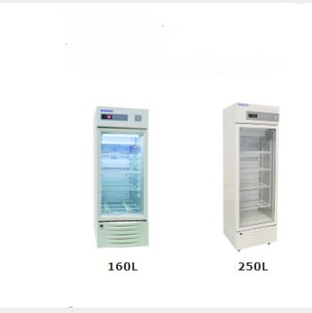 Small capacity2-8 degree Laboratory Refrigerator and Freezer with four shelves