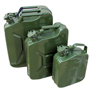 Metal Jerry Gas Can 5/10/20 Liter Petrol Diesel Fuel Tank