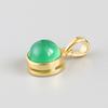 Gold-7 Green Chalcedony