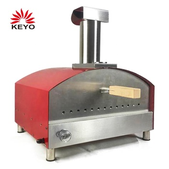 KEYO 13,000 BTUs Indoor Outdoor Portable Gas Pizza Oven With 13 Inch Pizaa Stone
