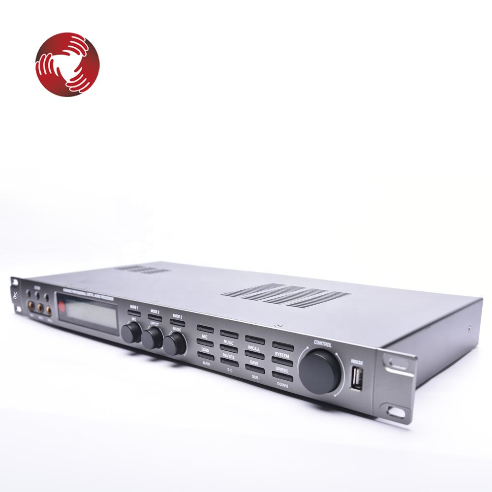 Встроенный 600 Вт * 2 усилитель мощности dsp цифровой Караоке-процессор G350