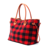 377-plaid rouge