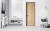 Simple Modern Wooden Melamine wood latest design wood frame interior mdf door