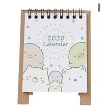2020 новый год, милый мультяшный настольный календарь, мини настольный календарь, органайзер, Настольная календарная книга, 2020 планер I0T8(Китай)