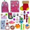 B5 24 pack fidget advent calendar bag