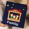 עמוק כחול משפחה