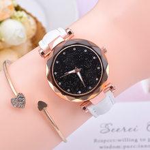 Женские часы, лидер продаж, кожаные женские часы-браслет, кварцевые наручные часы, повседневные женские часы, Relogio Feminino(Китай)