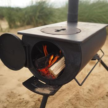 Stove tent wood burning stove