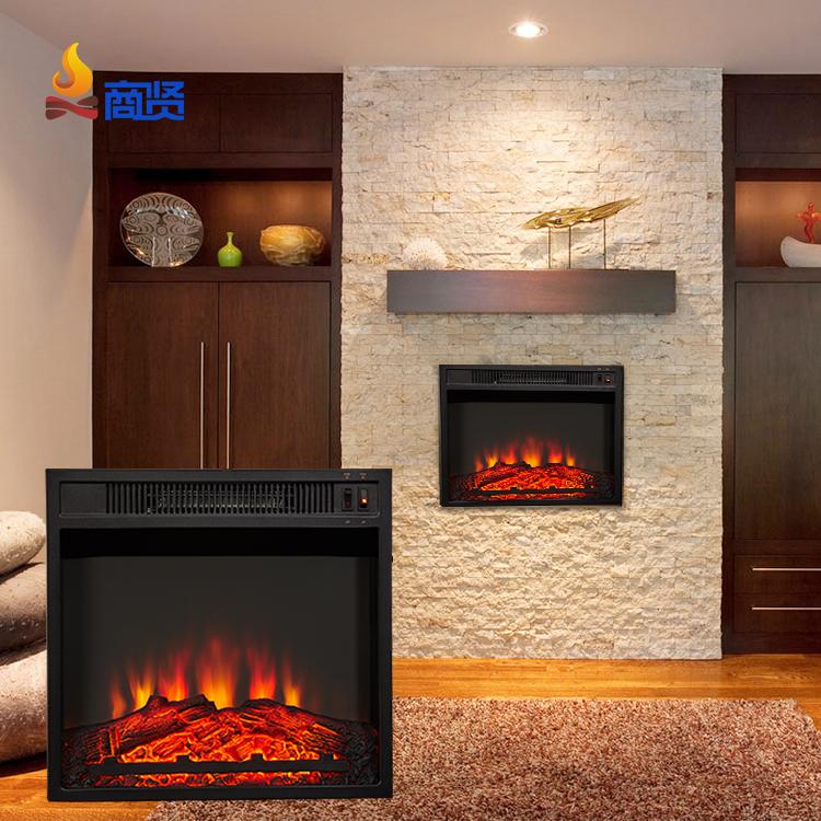 Домашний светодиодный Современный Электрический камин для гостиной и спальни
