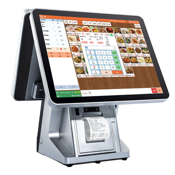 Hot 15'' Windows Cash Register with 58mm Printer Supermarket Touch Screen Cash Register POS system