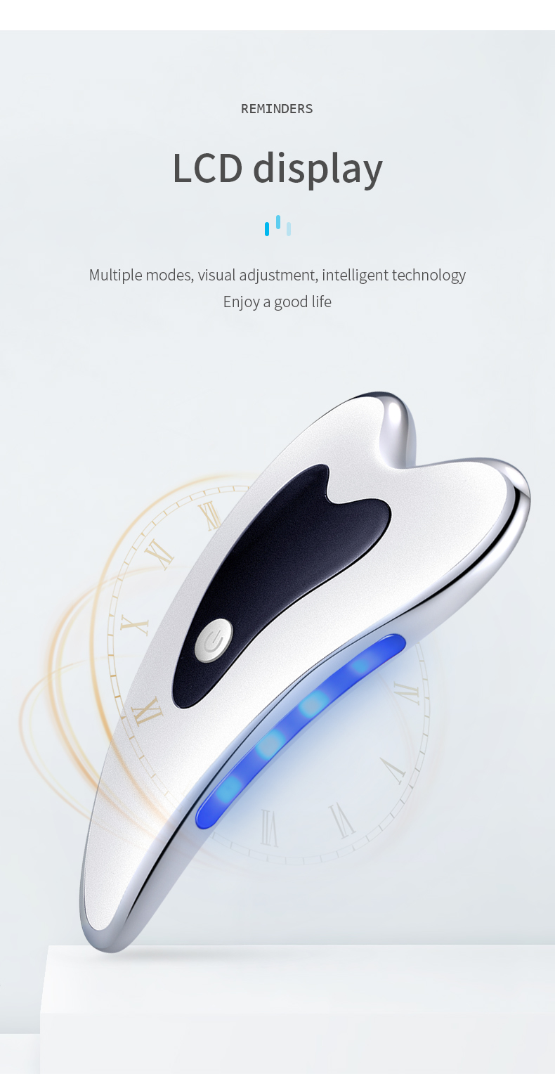 Good quality factory directly guasha board scraping gua sha electric body scraping beauty machine with factory price