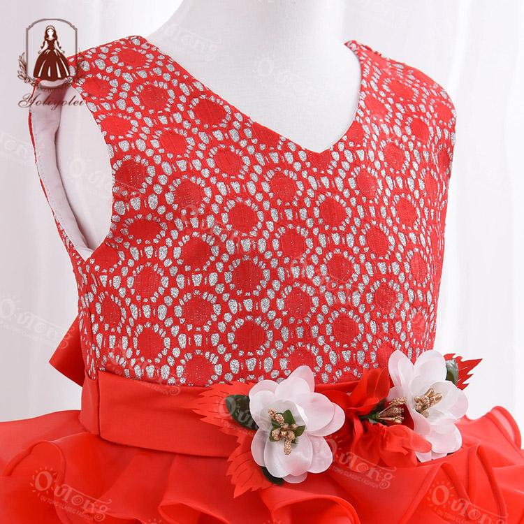 Baby Frock Design Christening Vestidos Princesa Birthday Girl Party Dress Custom Logo Outong Wear Dresses For Kids