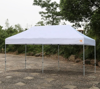 Factory 10x20 custom canopy weights Aluminum pop up canopy for party Ez Up tent walls outdoor canopy shade screen house gazebo