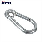 High quality DIN5299 carabiner zinc plated Spring Snap Hook